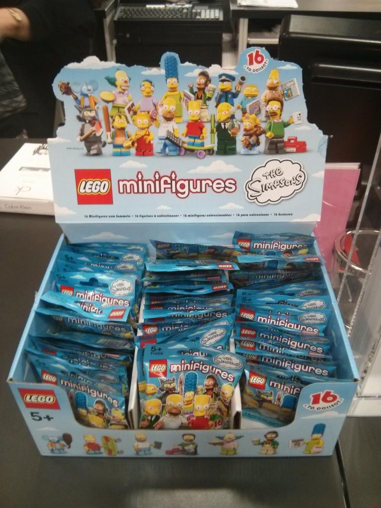 LEGO Simpsons Minifigures Myer