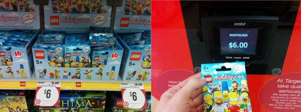 LEGO Simpsons Minifigures Target Australia