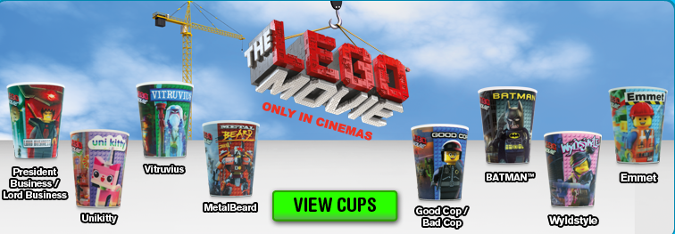 Lego Movie Cups McDonalds