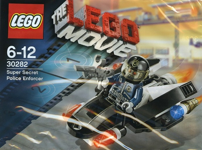 The LEGO Movie Super Secret Enforcer Polybag