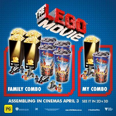 Australian LEGO Movie Promotions