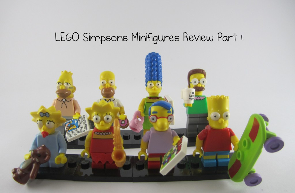 Review: LEGO Simpsons Collectible Minifigures Part 1