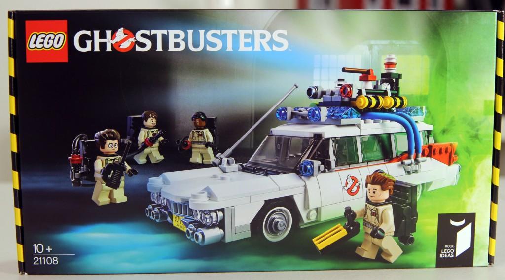 LEGO 21108 Ghostbusters Box Art