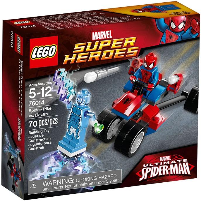 LEGO 76014 Spider Trike vs Electro Box