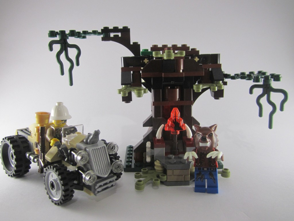 Review: LEGO 9463 Monster Fighters – The Werewolf