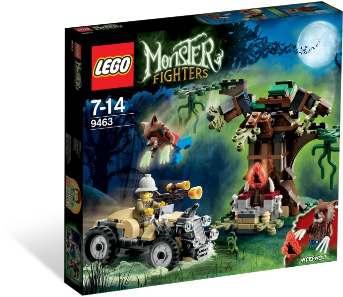 LEGO 9463 The Werewolf Box