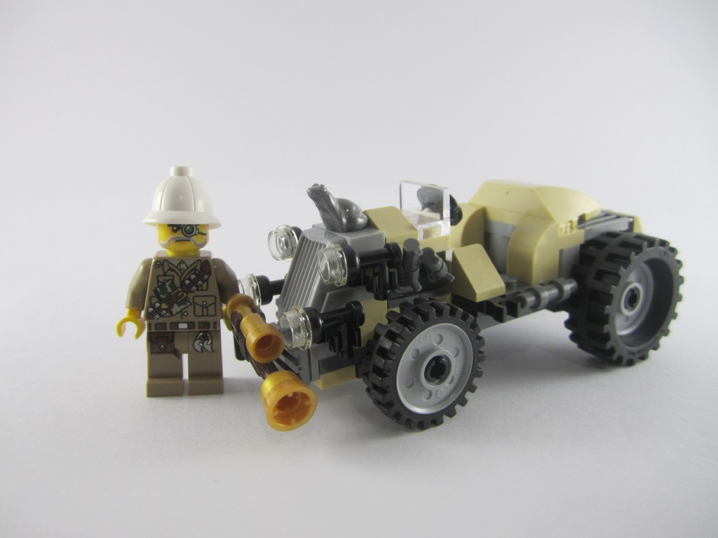 LEGO 9463 The Werewolf Car