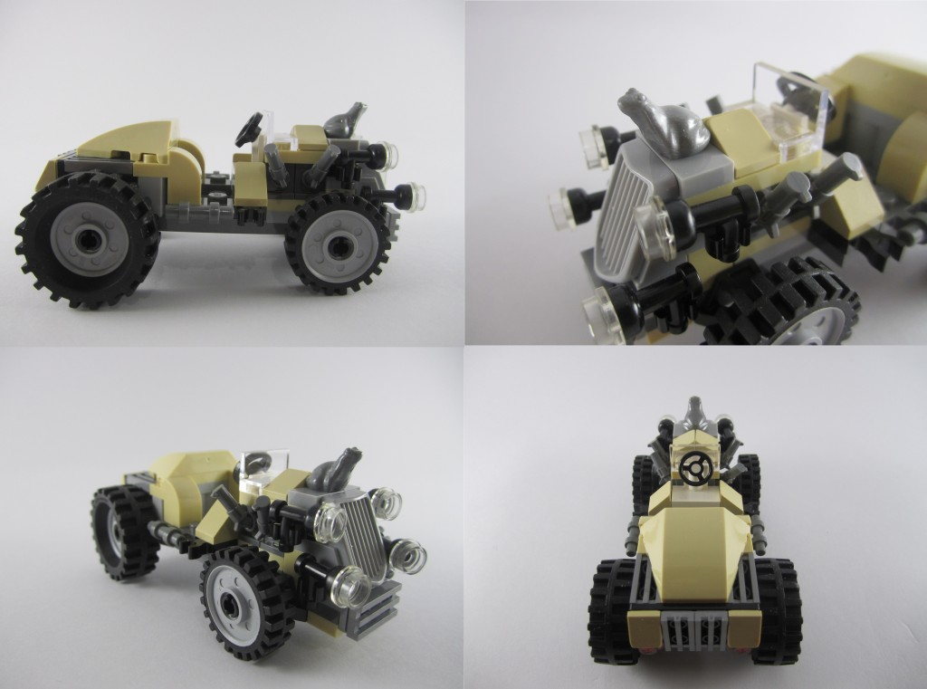 LEGO 9463 The Werewolf Car 2