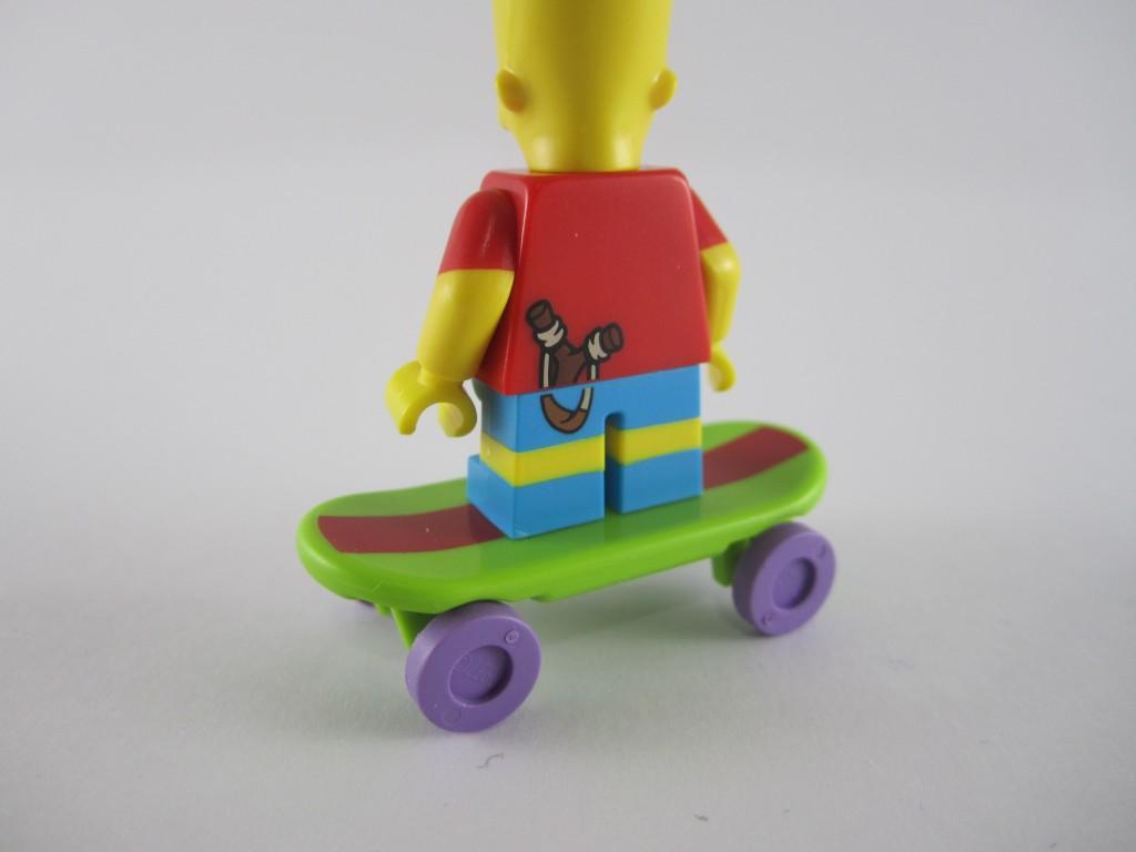 LEGO Bart Simpson Back
