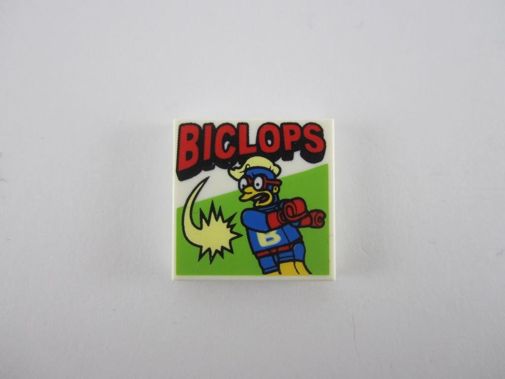 LEGO Biclops Comic