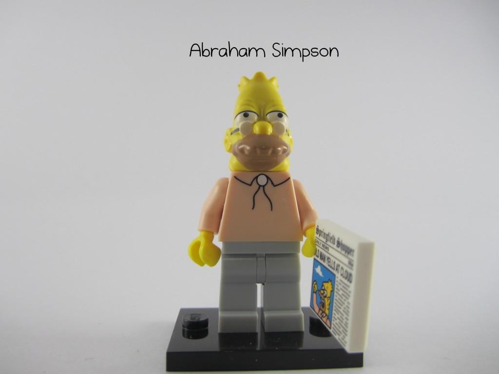 LEGO Grampa Simpson