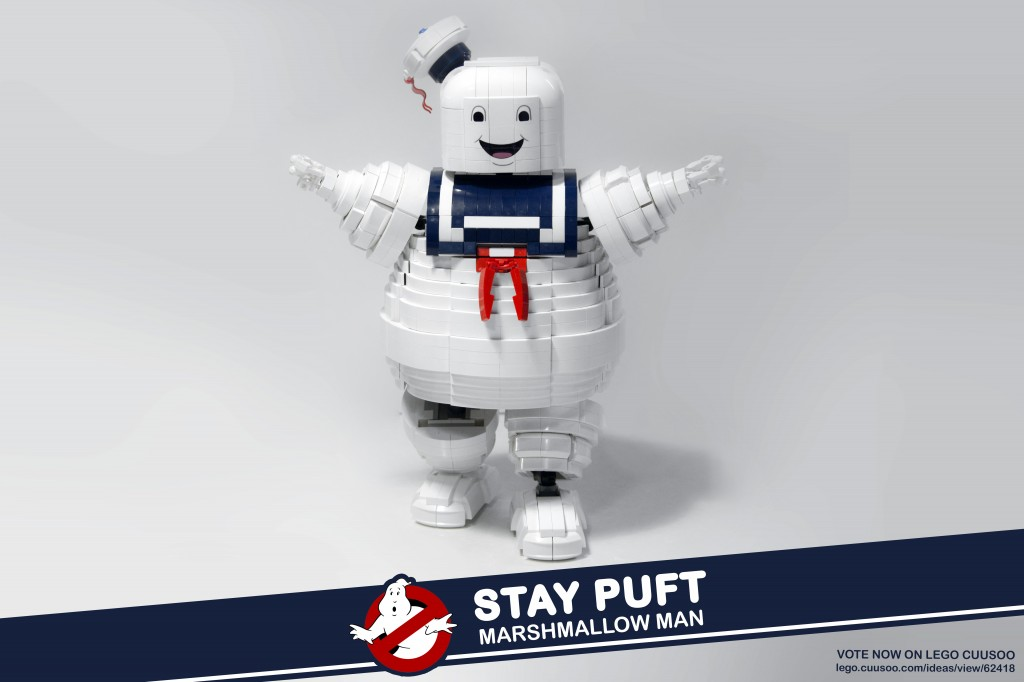 LEGO IDEAS Ghostbusters Marshmallow Man Brent Waller
