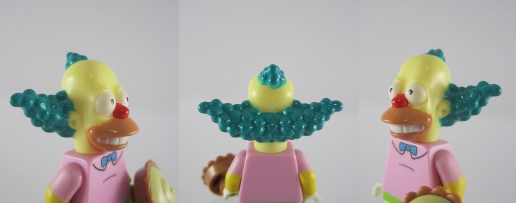 LEGO Krusty Face Closeup