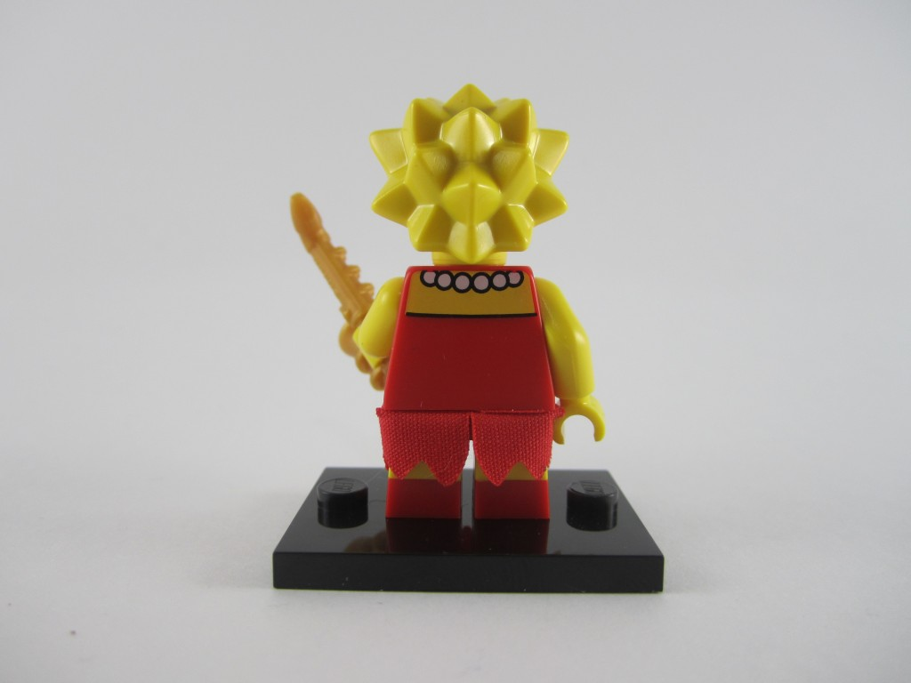 LEGO Lisa Simpson Back