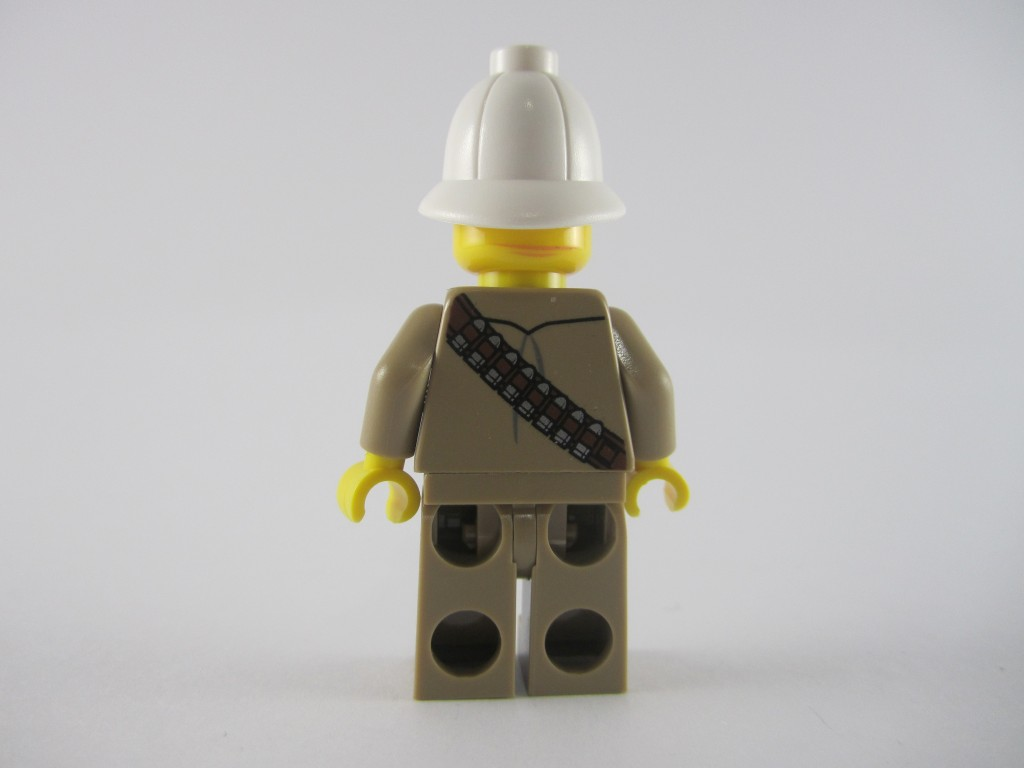 LEGO Major Quinton Steele Back