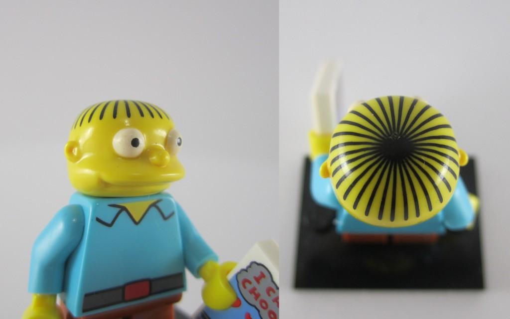 LEGO Ralph Wiggum Face Closeup