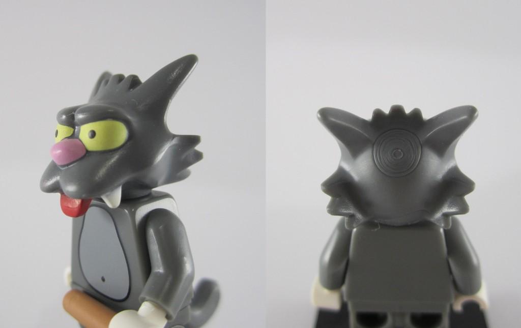 LEGO Scratchy Face Close Up