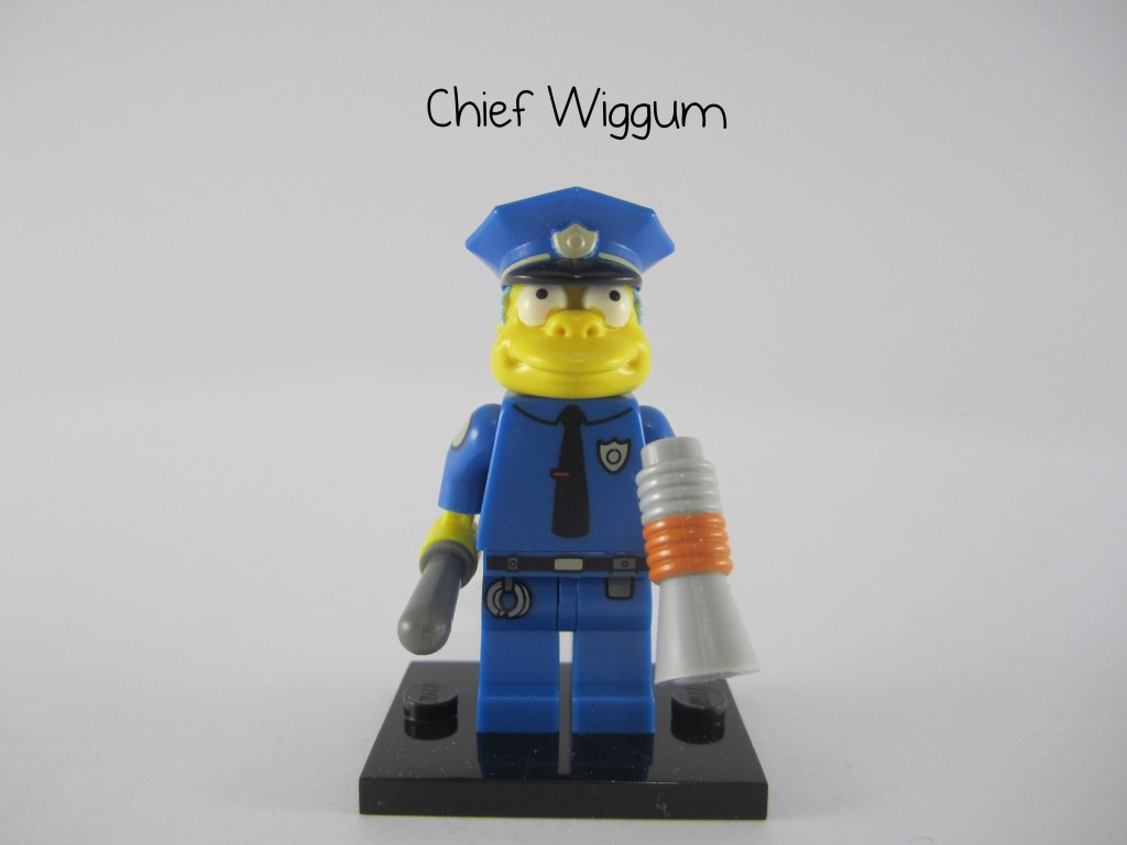 LEGO Simpsons Chief Wiggum Minifigure