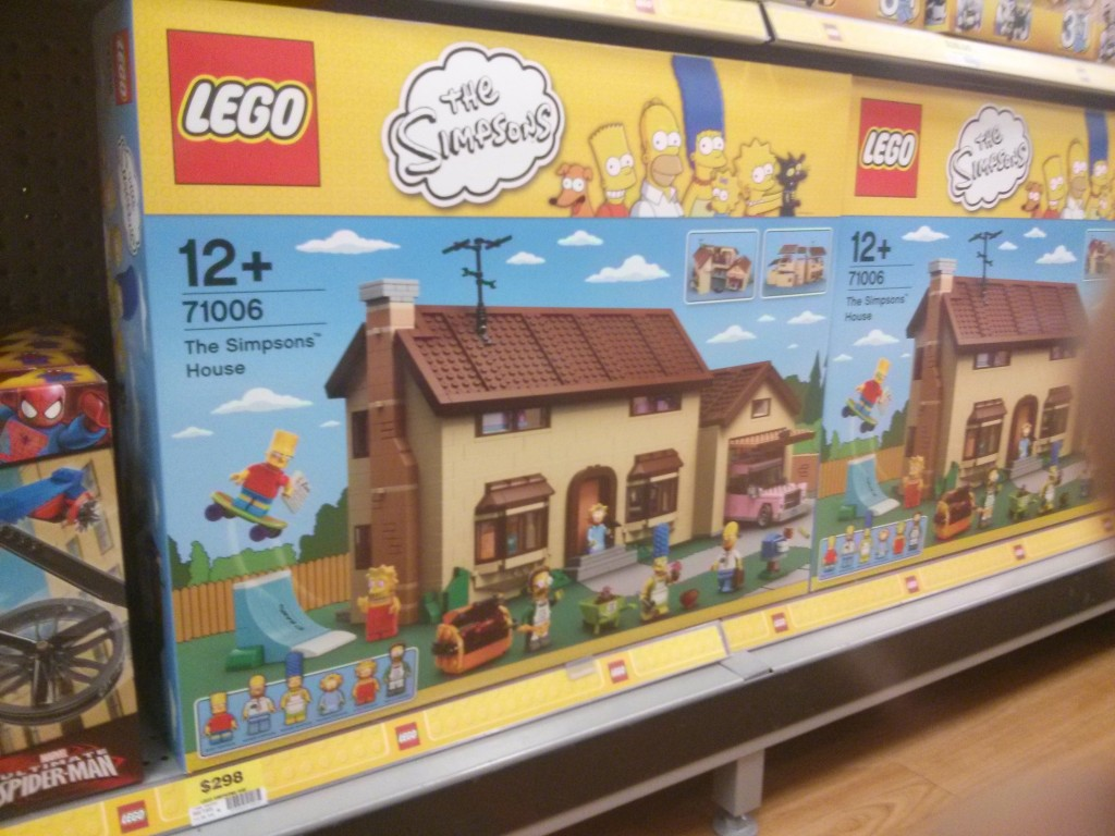Simpson House found in Big W