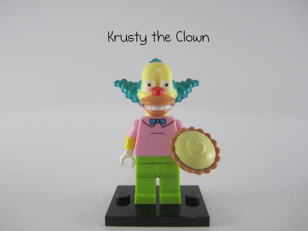 LEGO Simpsons Krusty the Clown Minifigure