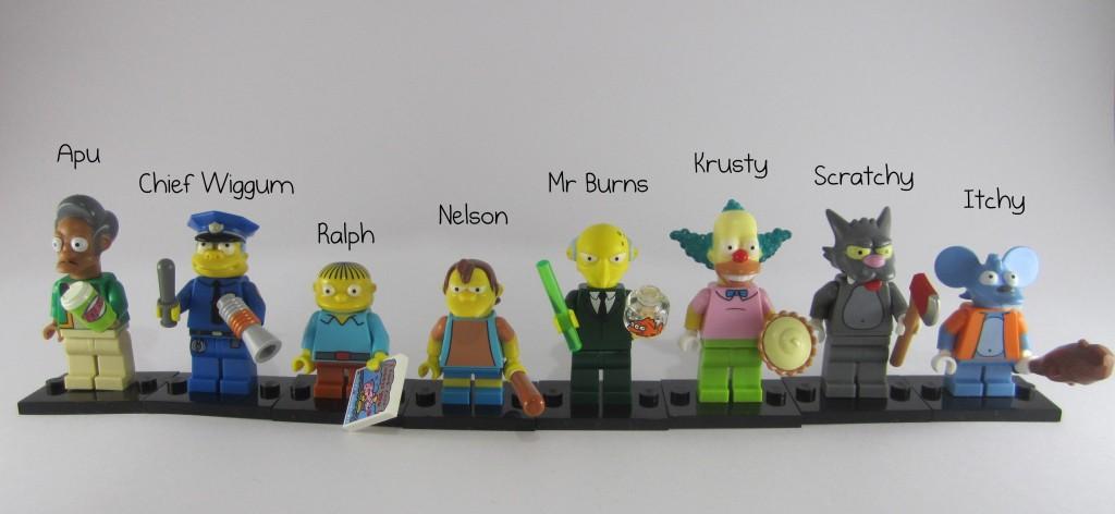 LEGO Simpsons Minifigures Names