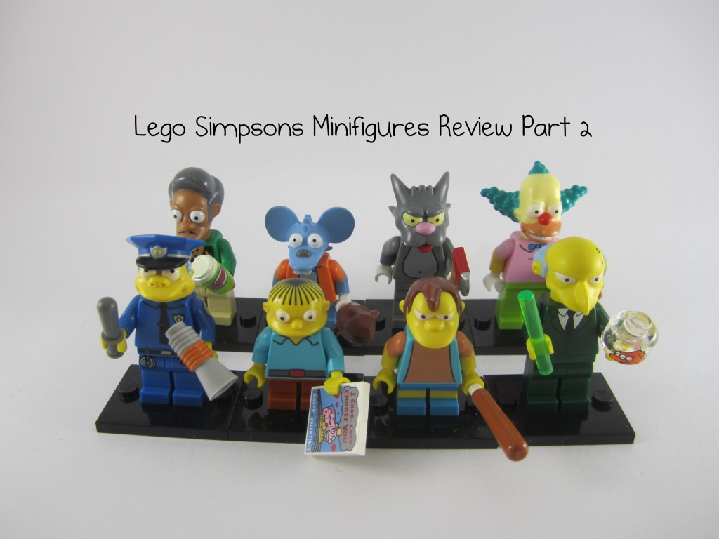 Review: LEGO Simpsons Collectible Minifigures Part 2