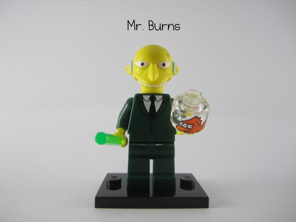 LEGO Simpsons Mr Burns Minifigure