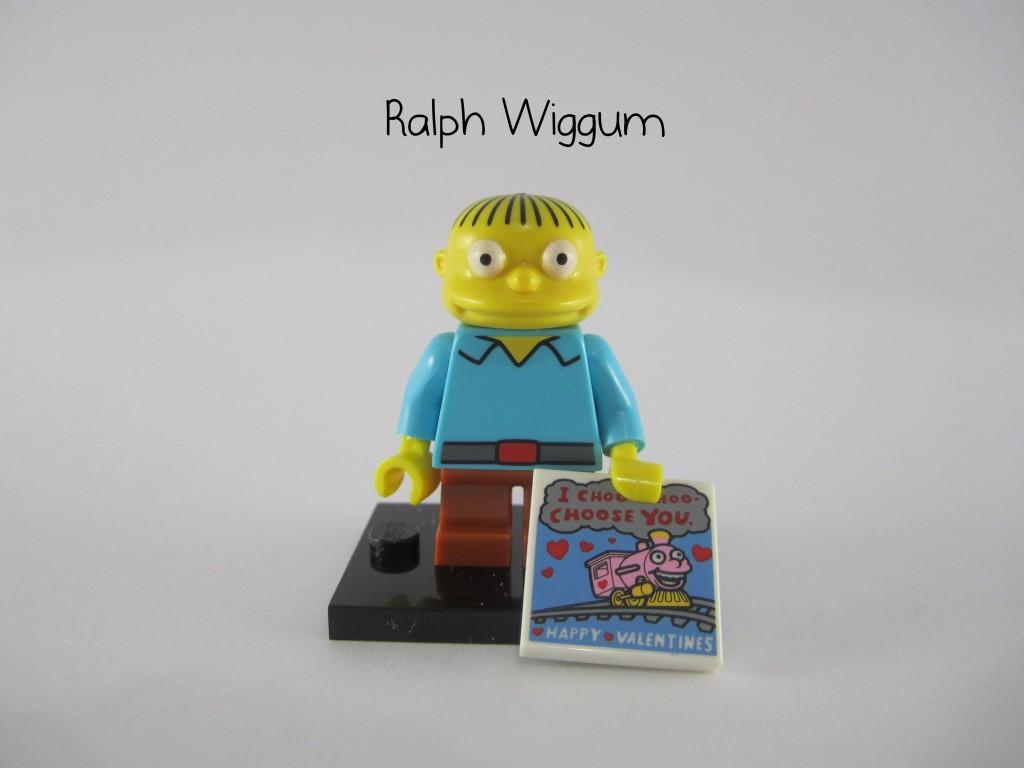 LEGO Simpsons Ralph Wiggum Minifigure