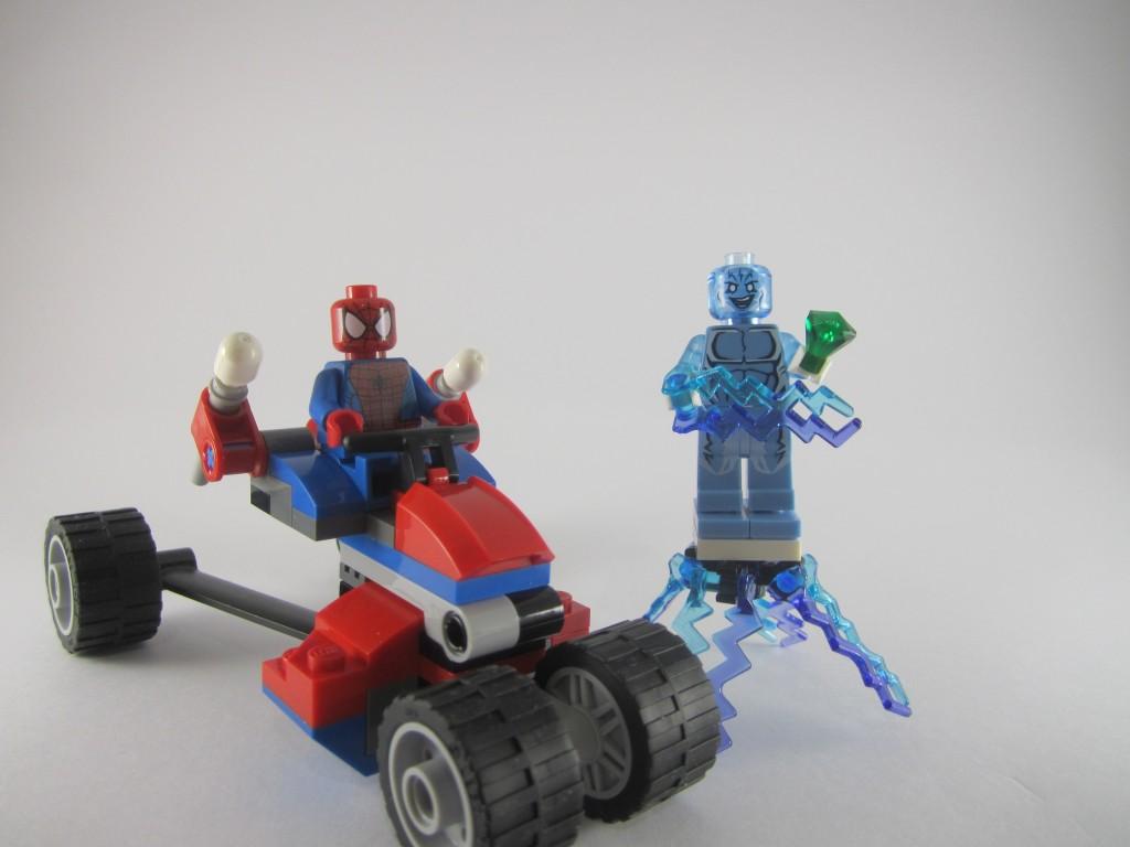 LEGO Spider-Man 76014 - Spider Trike vs Electro