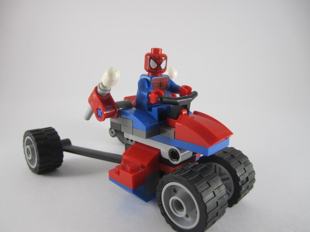 LEGO Spider-Man 76014 - Spider Trike vs Electro Side