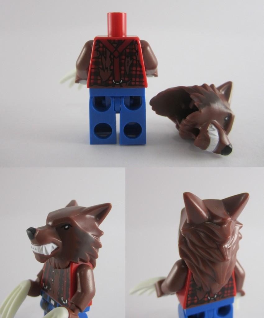 LEGO Werewolf Head
