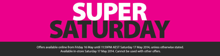 Myer Super Saturday