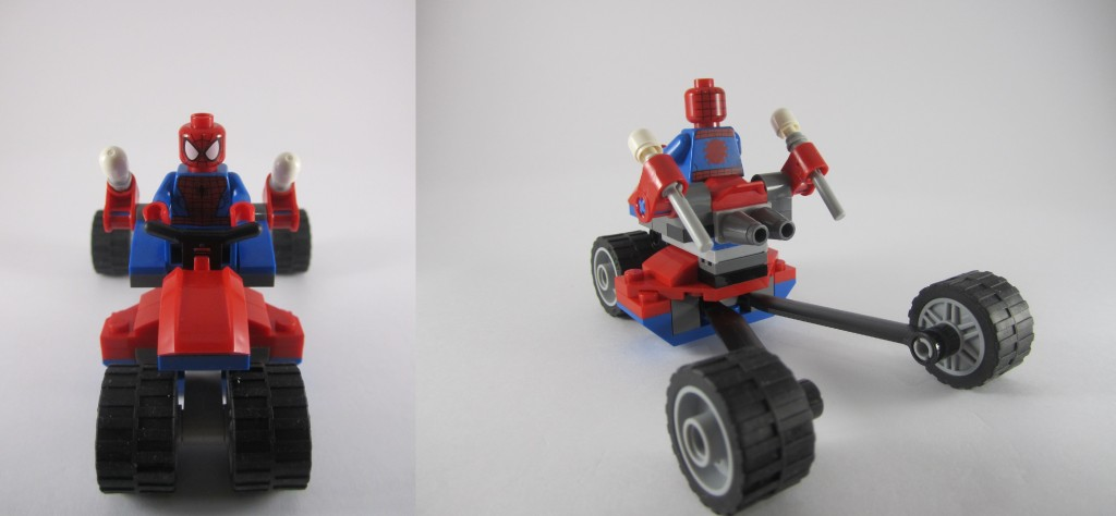Spider Trike Front and Side View