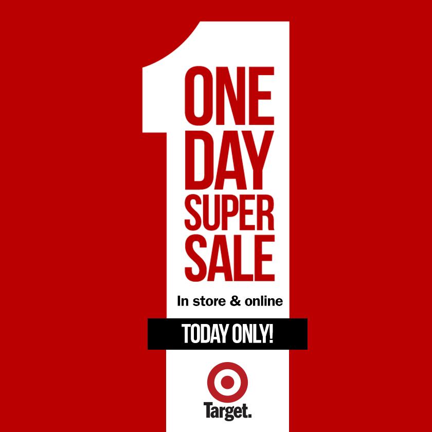 Target Australia 1 day sale