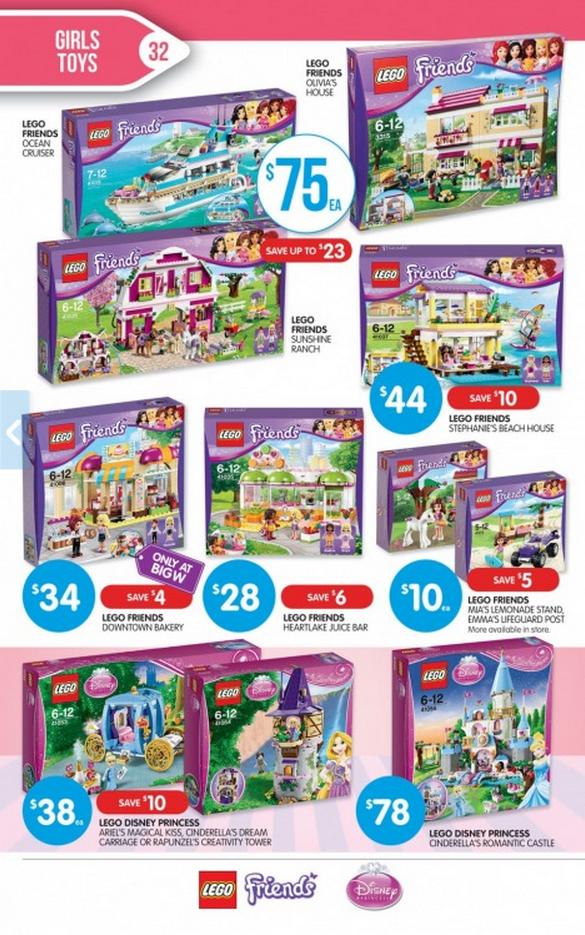 Big W Friends Toy Sale 2014