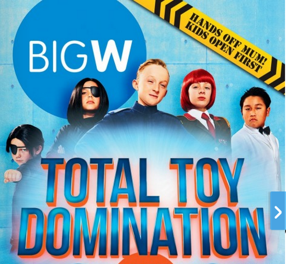Big W Total Toy Domination 2014