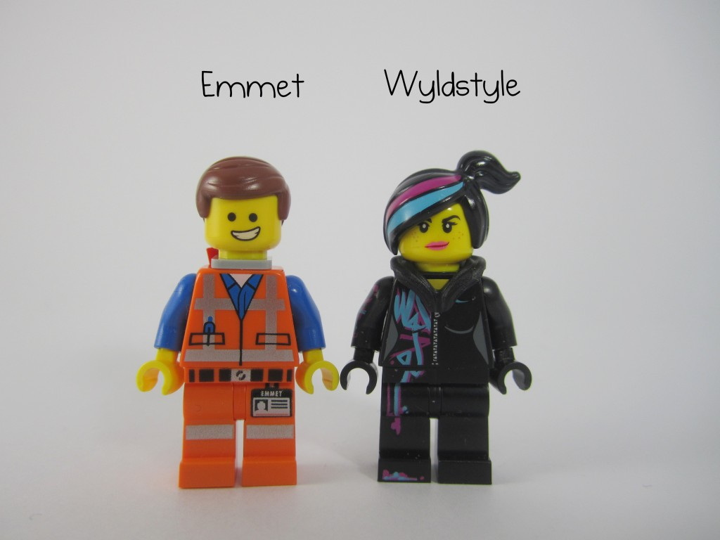 LEGO 70803 Cloud Cuckoo Palace Emmet Wyldstyle