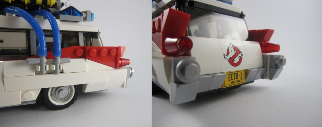 LEGO Ghostbusters Ecto-1 Details