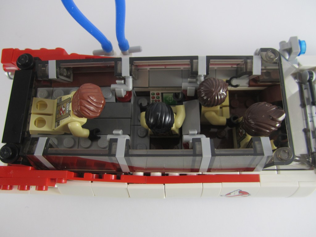 LEGO Ghostbusters Ecto-1 Seating