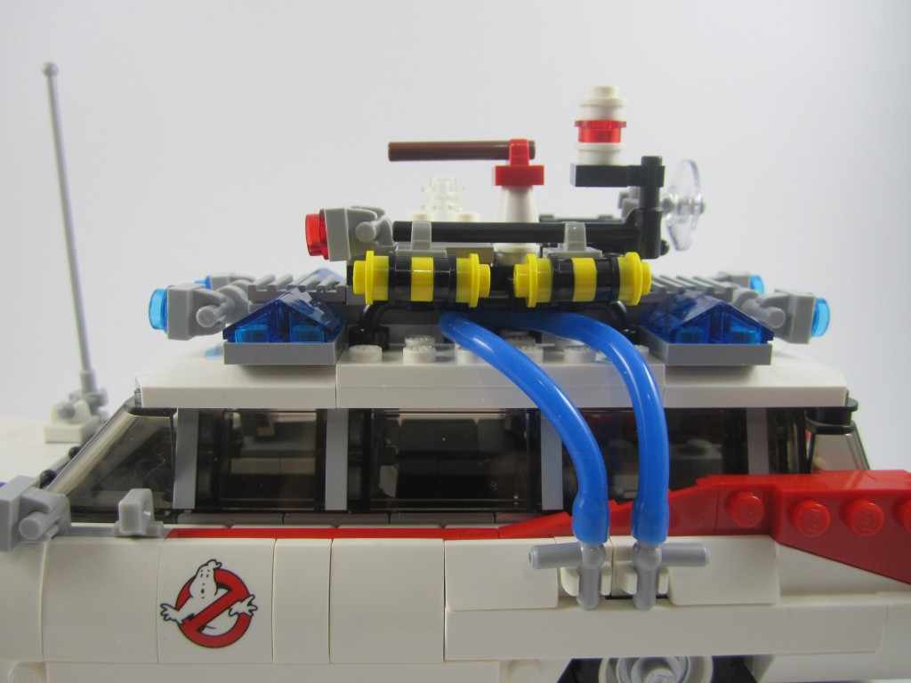 LEGO Ghostbusters Ecto-1 Side Closeup