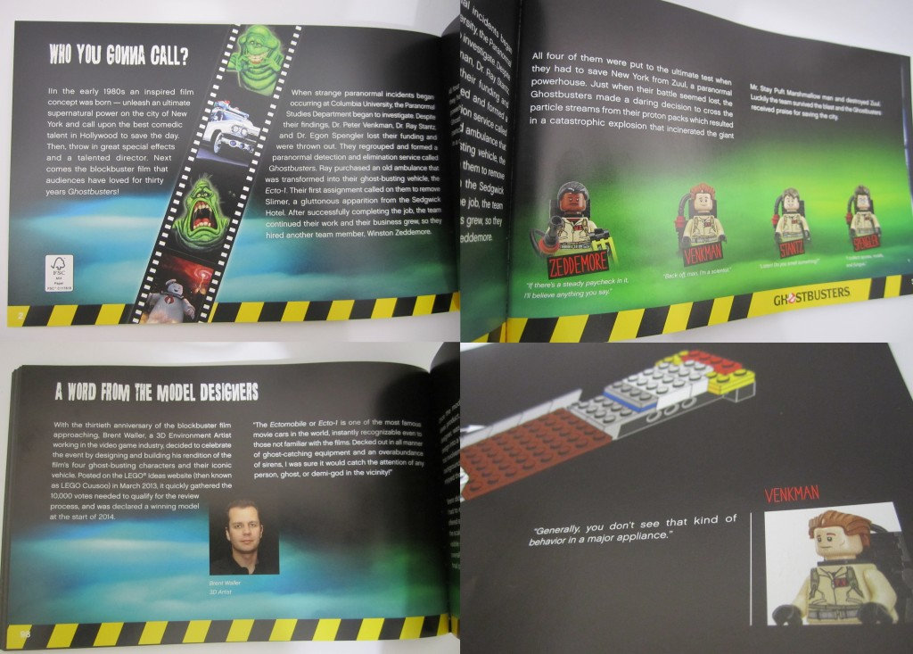 LEGO Ghostbusters Manual Content