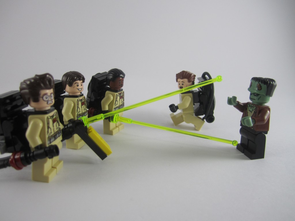 LEGO Ghostbusters vs Frankenstein