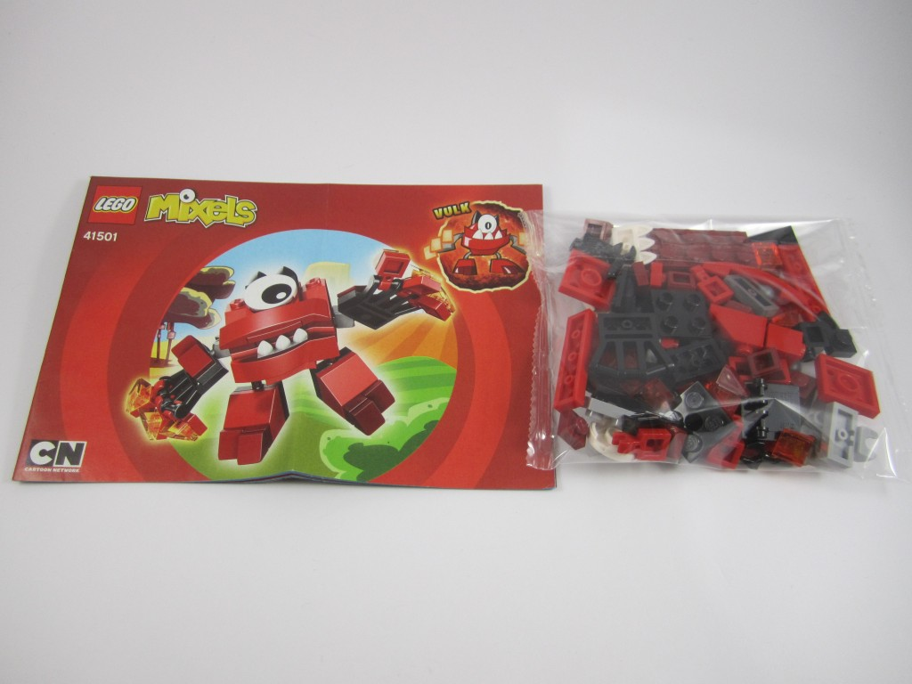 LEGO Mixels Infernites Instructions