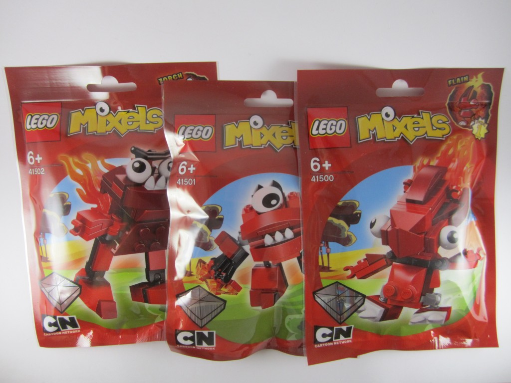 LEGO Mixels Series 1 Infernites Bags