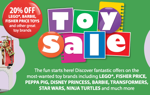 Myer Toy Sale 2014