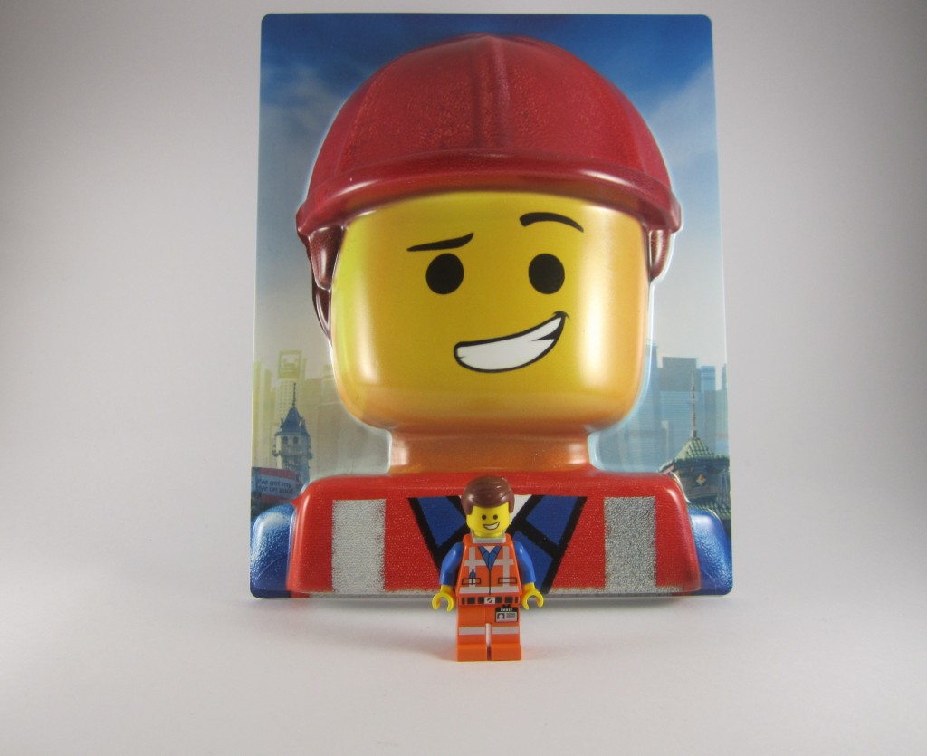 3D Emmet with Emmet Minifigure