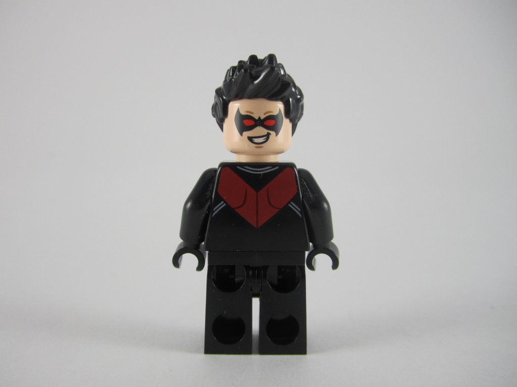 76011 Nightwing Minifig Back