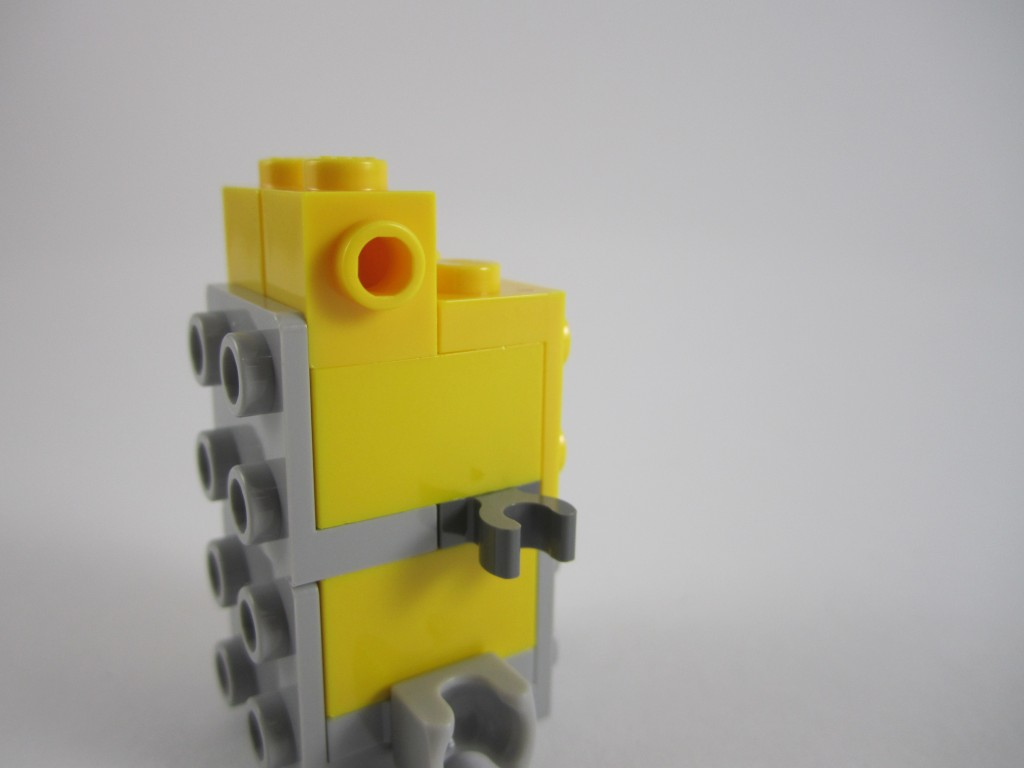 Different Coloured Yellow LEGO Bricks