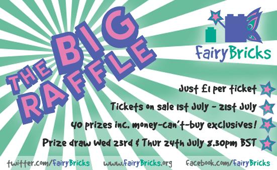 Fairy Bricks Raffle Poster