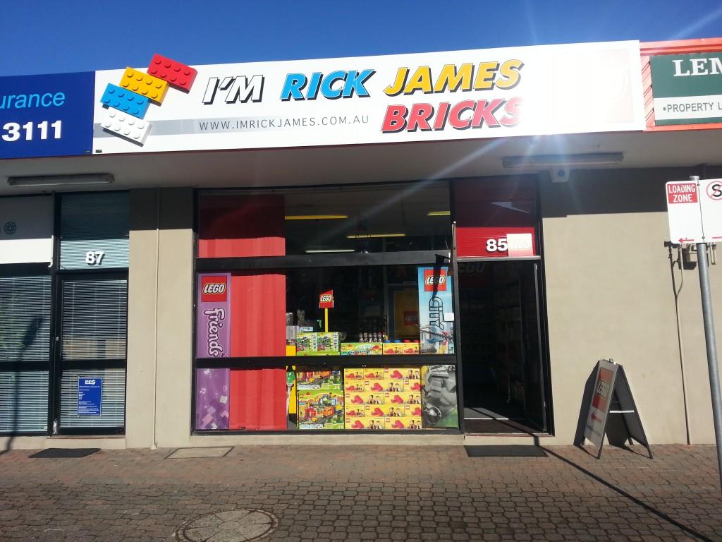 I'm Rick James Bricks Pakenham